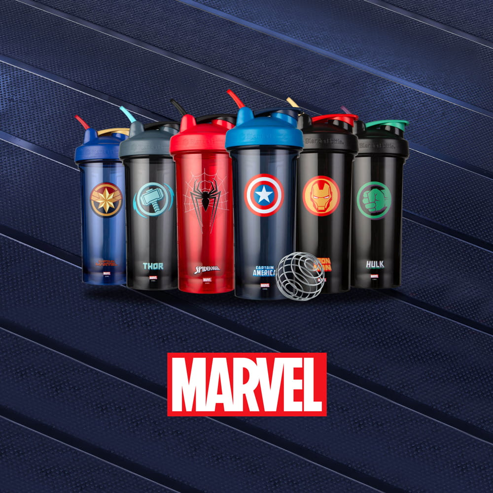 【Blender Bottle】Pro28系列-Marvel漫威英雄Tritan搖搖杯28oz【送Mars乳清】 10