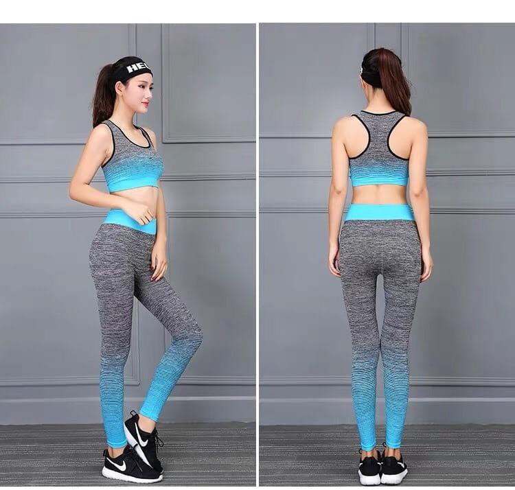 運動休閒套裝韻律有氧跑步瑜珈LETS SEA-KOI限時買一送一 2