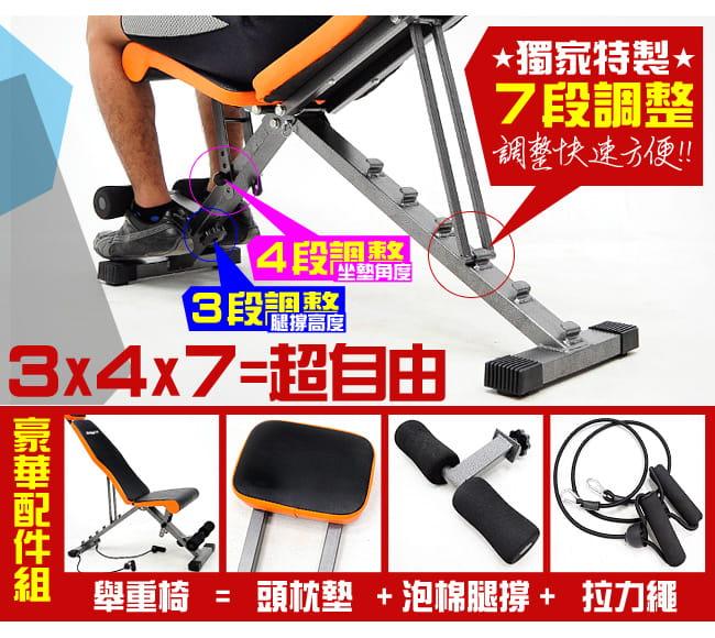 【SAN SPORTS】全方位飛鳥啞鈴椅 2