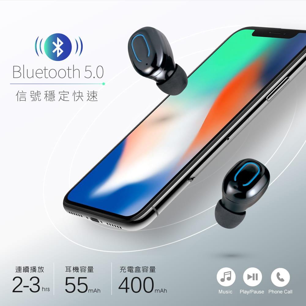 【E-books】SS6 真無線藍牙5.0微型立體聲耳機 1