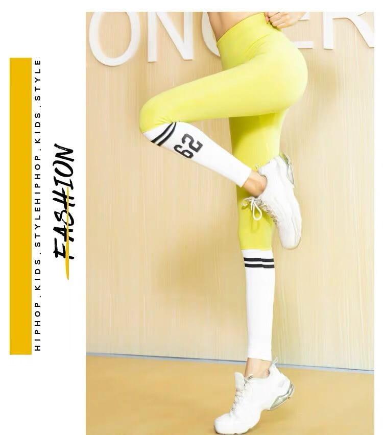 運動休閒長褲seamless 顯瘦修身 韻律有氧跑步瑜珈-KOI 1