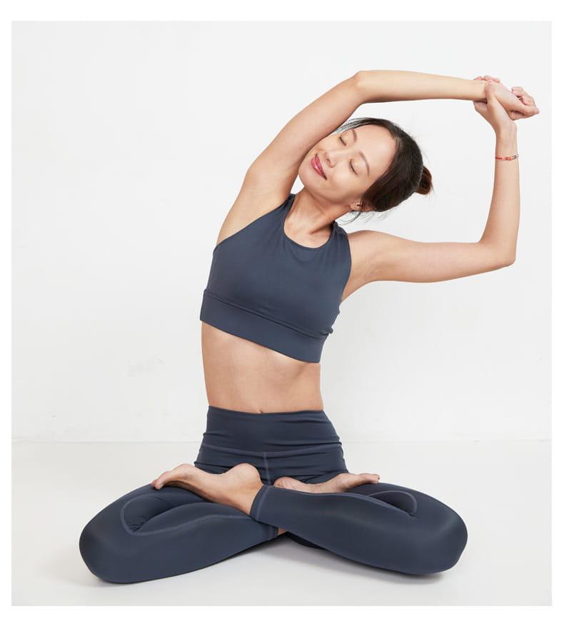 【ELASTI】PURE素色瑜珈褲 7