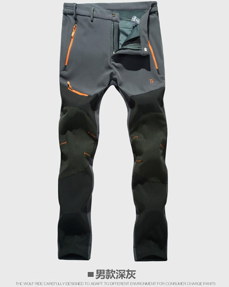 【加絨加厚】拼色防風防水衝鋒褲 戶外機能工作褲【CP16007】 13