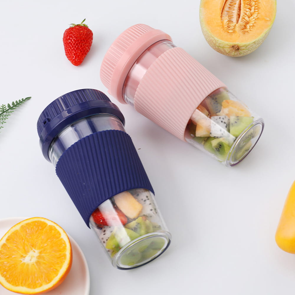 【英才星】隨身電動杯裝果汁榨汁機 8