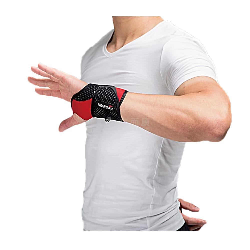 WELL-DAY 晶晏 動力式熱敷 石墨烯溫控熱敷(護腕) WD-GH322