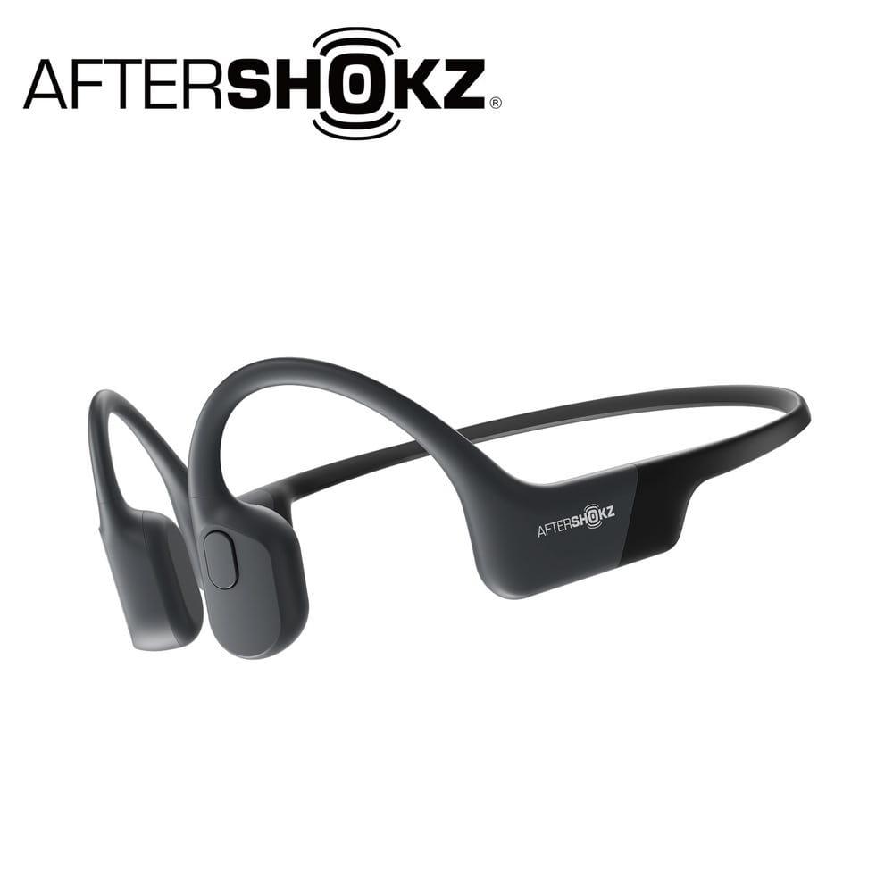 AEROPEX AS800骨傳導藍牙運動耳機-曜夜黑