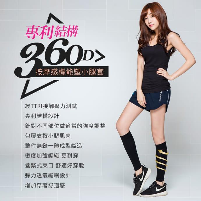 【BeautyFocus】專利機能加壓運動小腿套 2