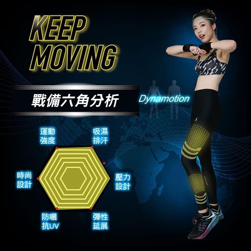 【AREXSPORT】輕量男女壓縮日著機能運動褲 5