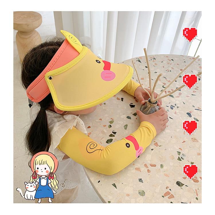【JAR嚴選】兒童涼感防曬遮陽帽 (送袖套) 12