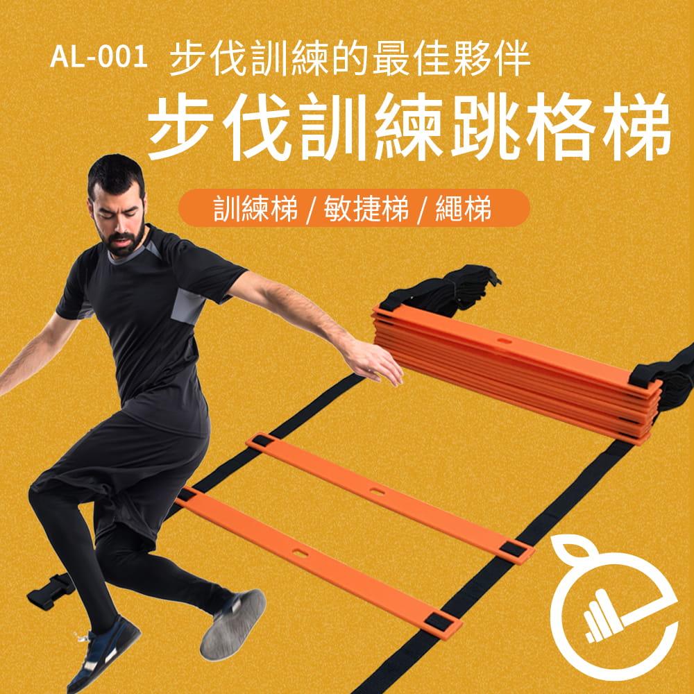 【NORDITION】4M步伐訓練跳格梯◆台灣製 訓練梯 敏捷 速度 繩梯 腳力 調整式 可加長 贈收納袋 田徑球隊 1