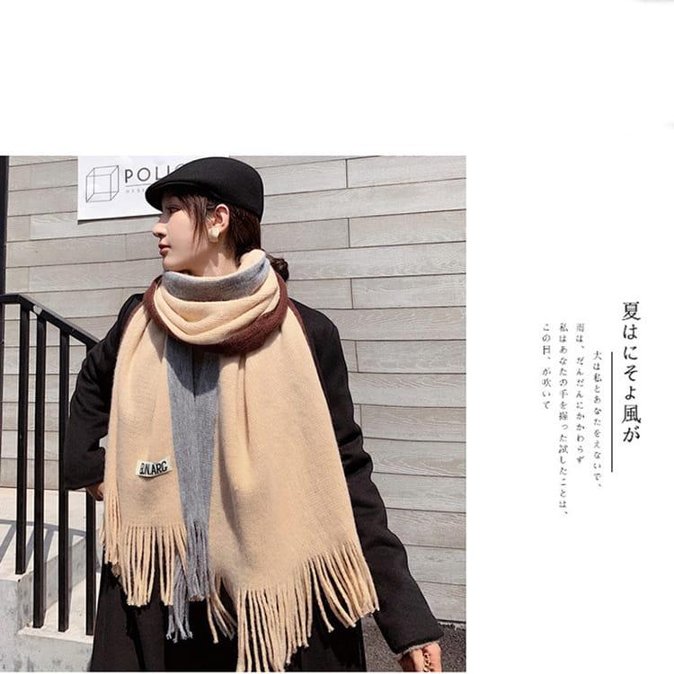 【JAR嚴選】時尚秋冬必備韓版情侶款保暖圍巾 13