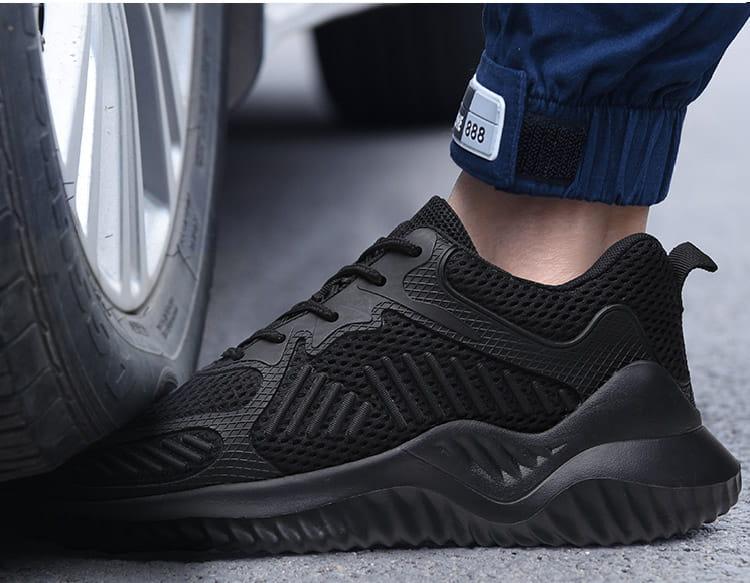 黑凱薩機能鋼鐵鞋 1