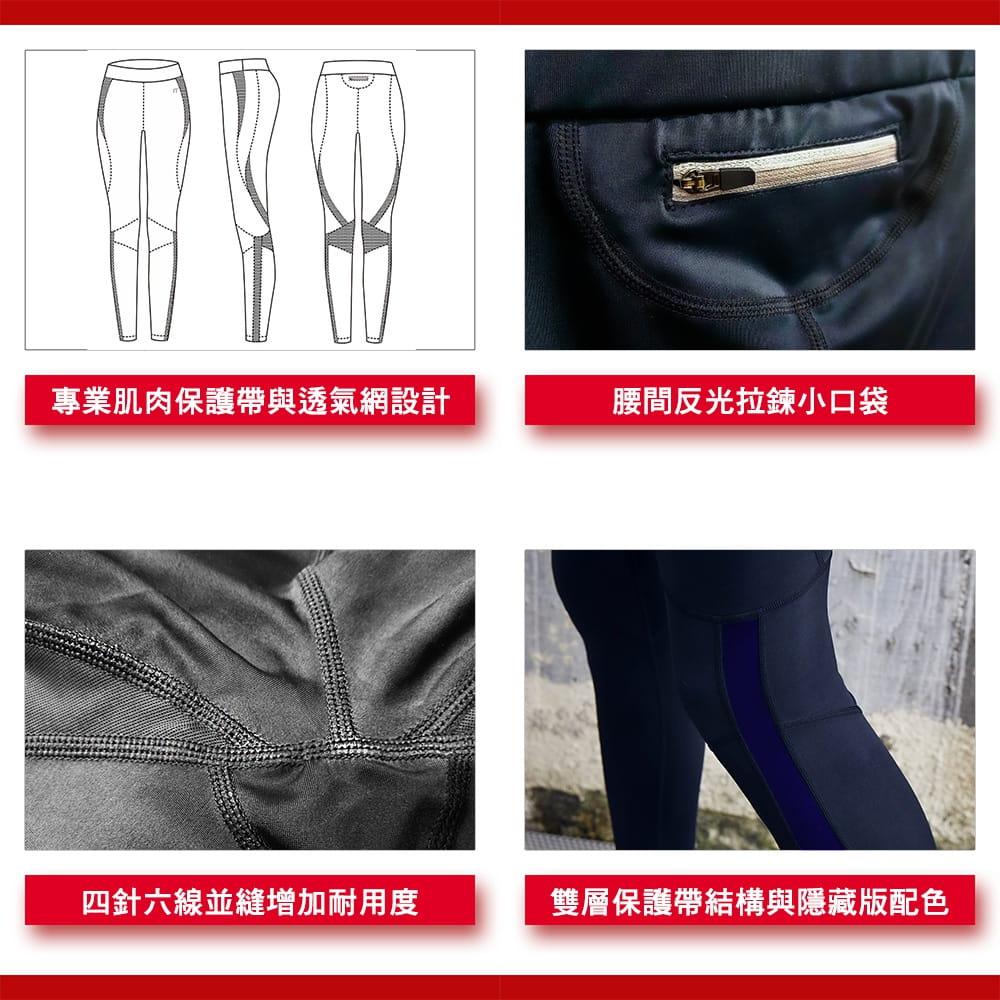 【N10.5】男女款專業級機能肌力壓力褲 5