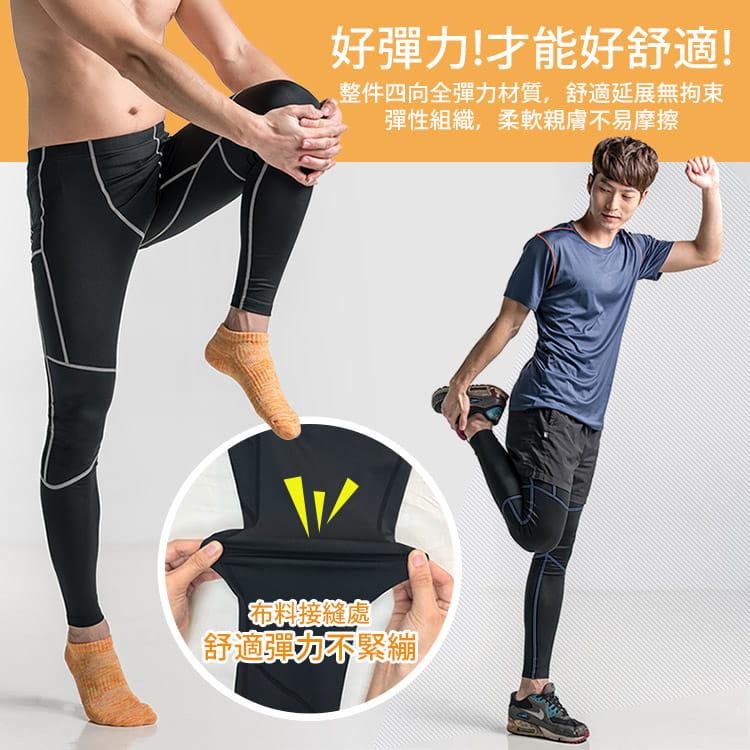 【BeautyFocus】男女智能調節運動壓力褲 12