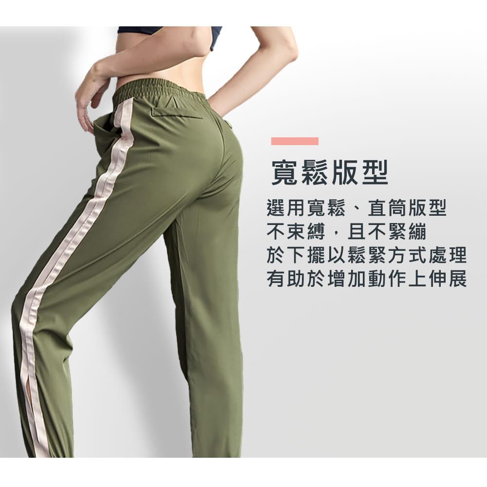 【NEW FORCE】簡約時尚彈力女運動束口長褲-多款多色可選 3
