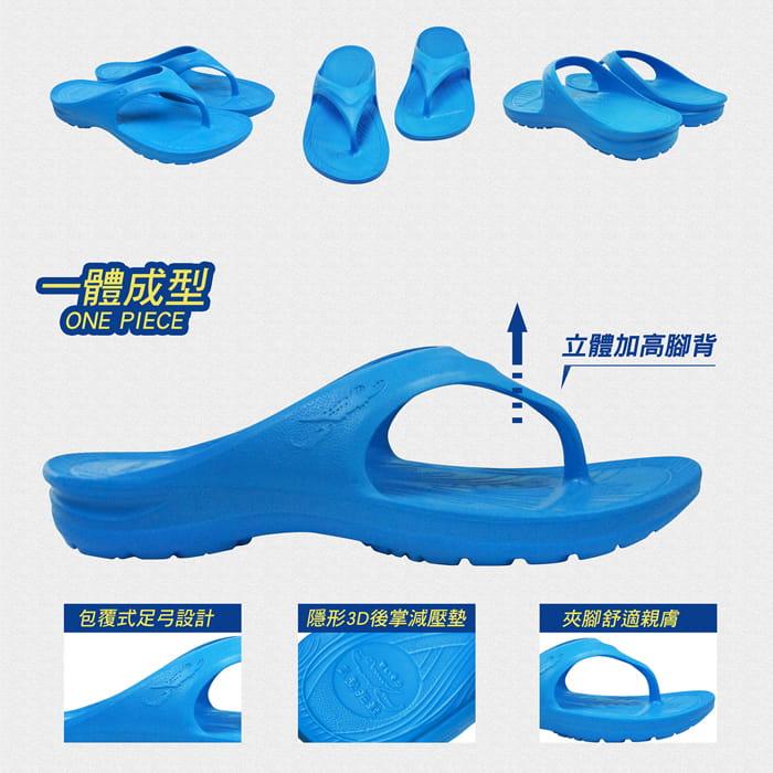 【母子鱷魚】MIT三代正宗路跑氣墊拖鞋(原廠供貨) 3