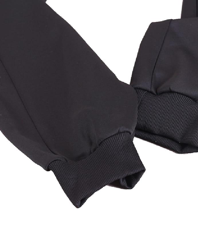 【CS衣舖】輕量運動褲 縮口褲 機能 透氣 鬆緊腰圍 防掉拉鍊口袋 兩色 5