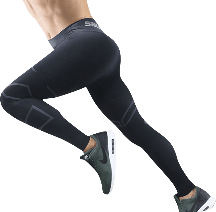 【sNug】全壓式強肌力壓縮褲(男版)增強肌耐力 減緩肌肉疲勞 爬山褲 壓力褲 運動褲