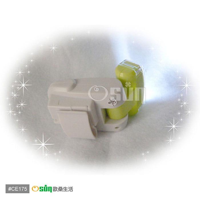 【Osun】多功能3LED手電筒計步器 ( CE175 ) 6
