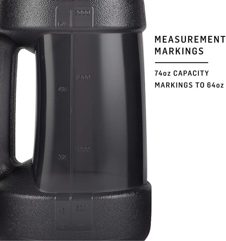 【Blender Bottle】Koda系列 運動專用 經典款 巨無霸水壺 74oz 2.2公升 4