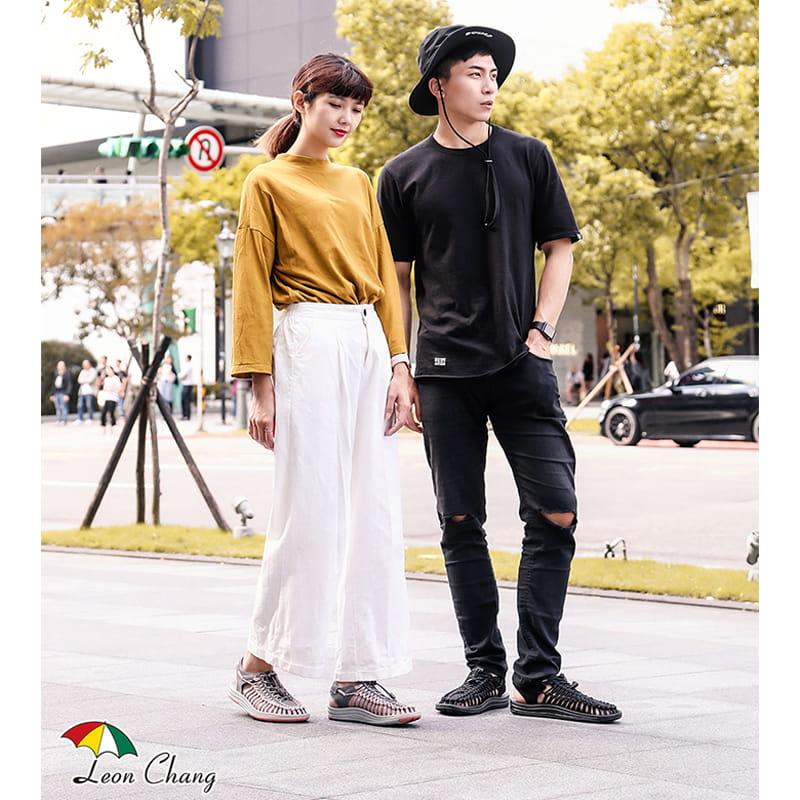 【Leon Chang】【LC雨傘】 編織運動涼鞋 5