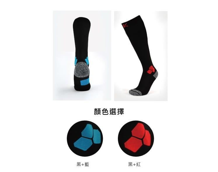 防黴排汗毛圈運動壓力小腿襪【旅行家】 3