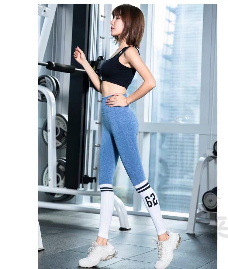運動休閒長褲seamless 顯瘦修身 韻律有氧跑步瑜珈-KOI 5