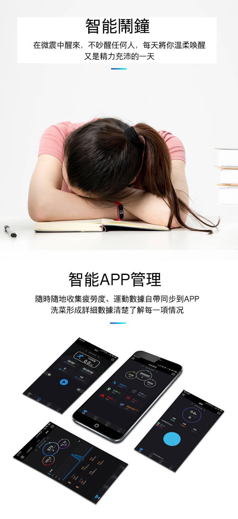 智能手環手表運動計步器男女學生防水電子情侶手環5代多功能適用小米4蘋果oppo華為手機 13