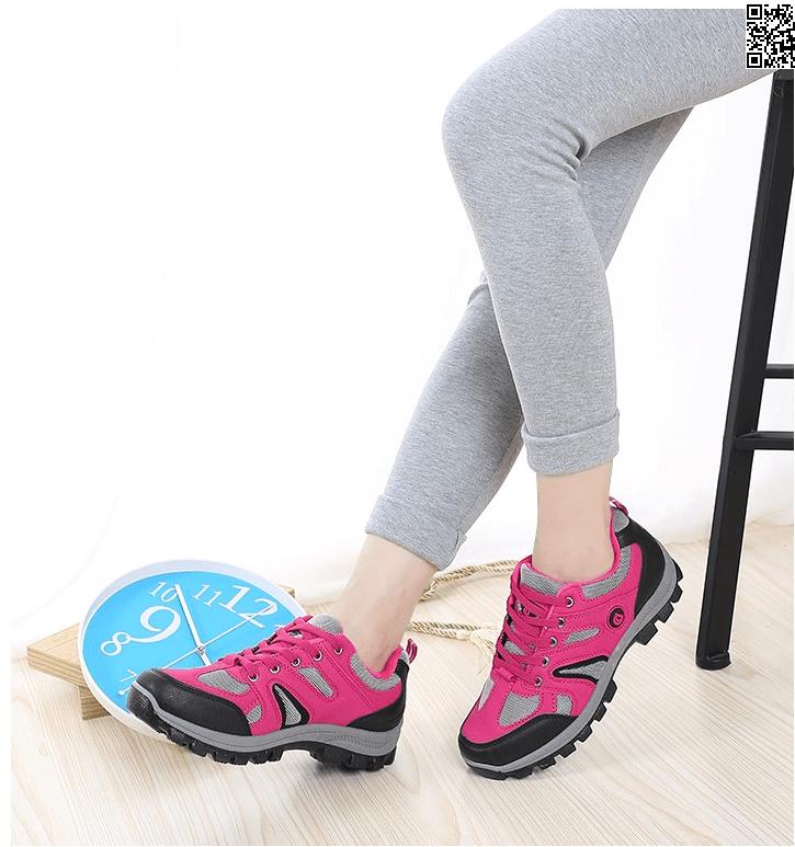 新款登山鞋秋冬季戶外女徒步鞋防滑耐磨旅遊鞋爬山防水運動女鞋 5