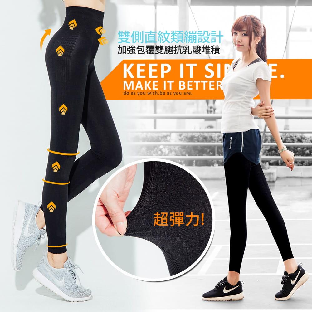 【BeautyFocus】台灣製微動感機能塑型褲2372 4