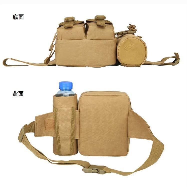 多功能休閒戶外戰術水壺腰包 手機掛包 【AE16162】 7