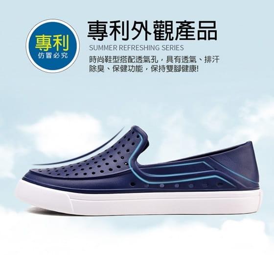 【JAR嚴選】EVA防水透氣輕量洞洞水陸兩用鞋 5