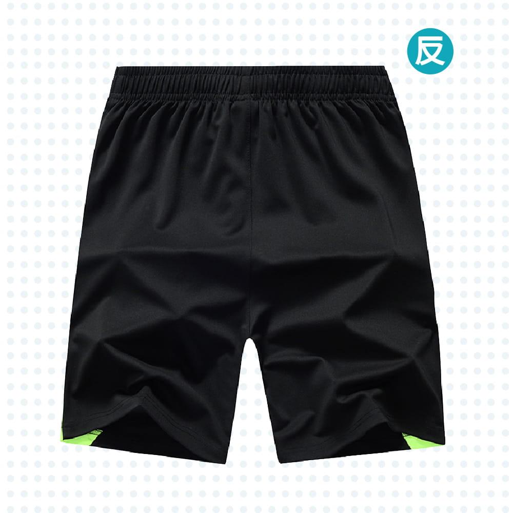 【NEW FORCE】速乾彈力抗皺休閒運動男短褲-兩色可選 6