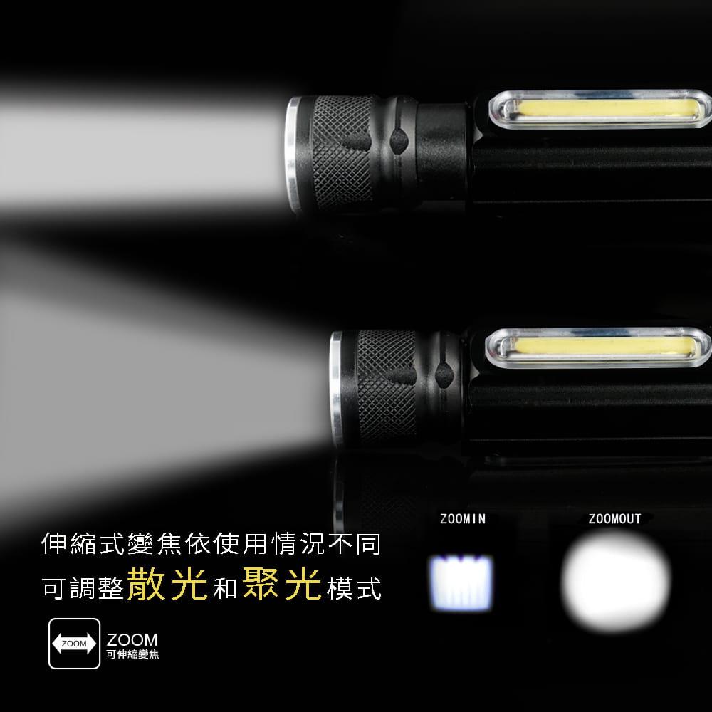 【RONEVER】PA-6充電式工作燈手電筒 2