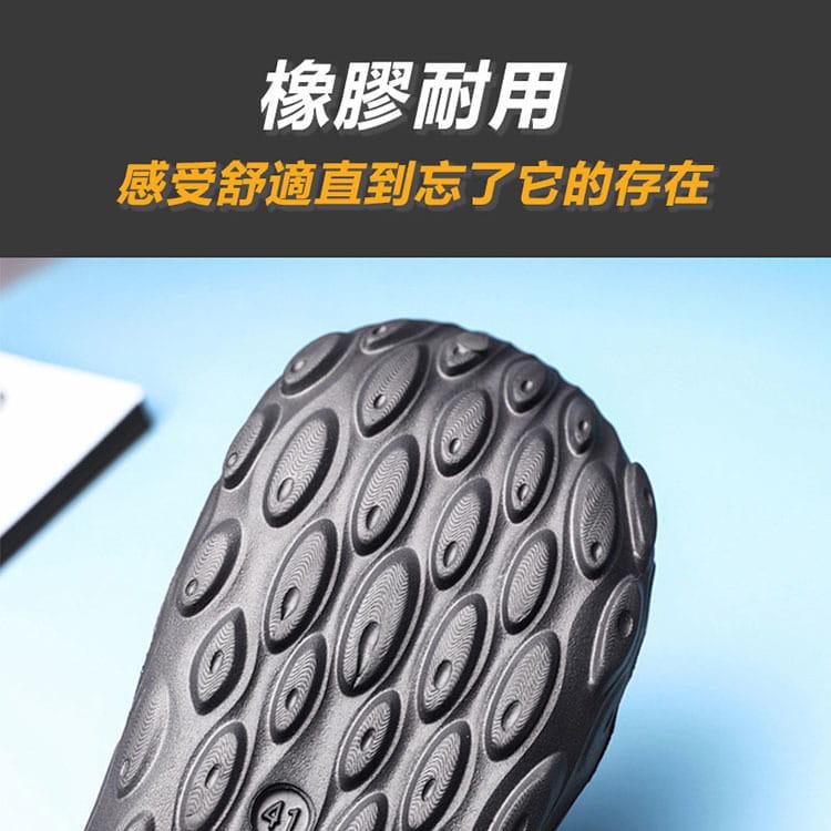 【JAR嚴選】男款厚底運動水陸二用洞洞鞋 3