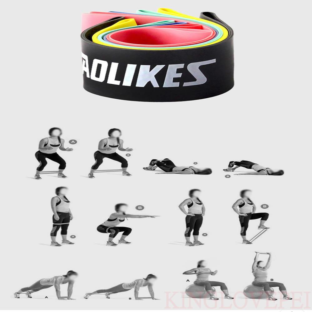 【Aolikes】迷你環狀阻力帶 拉力帶 瑜珈帶 彈力帶 拉力圈 彼拉提斯帶 8