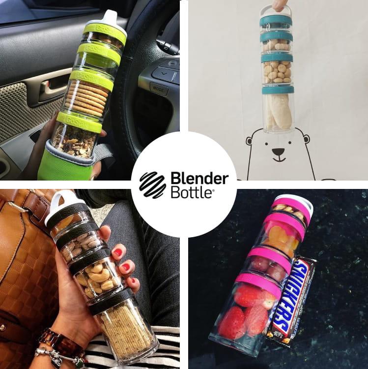 【Blender Bottle】Gostak系列|Tritan|多功能保鮮盒|4層|4色 4
