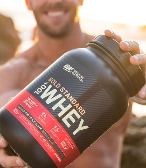 【ON 歐恩】[美國ON官方授權經銷] 金牌乳清蛋白 5磅 Whey 100% 乳清 高蛋白 9
