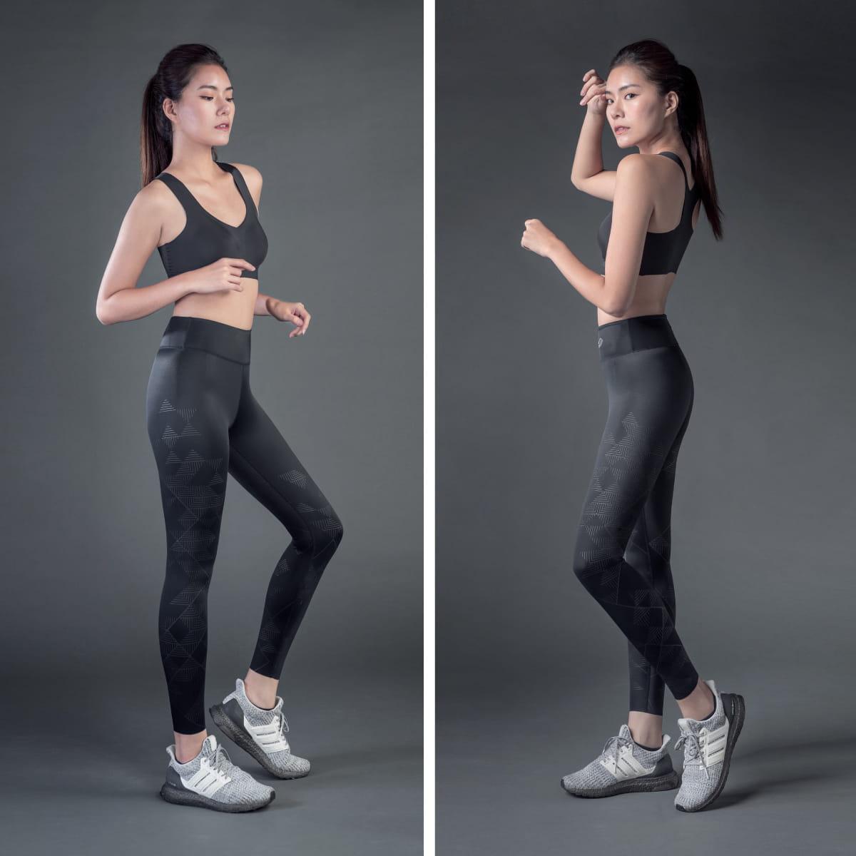 TENO超彈感美型健身褲-Mountain山稜 10