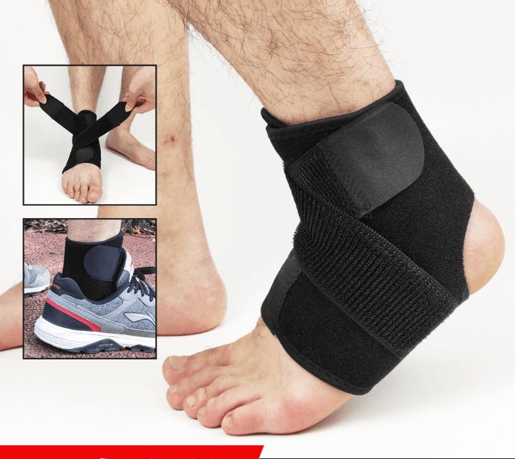 調式雙向超透氣運動護踝 8