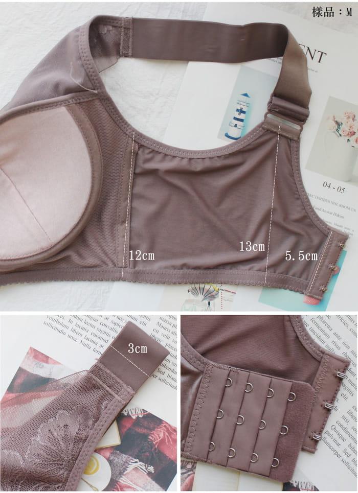 【伊黛爾內衣】蠶絲透氧運動涼感美胸衣 6