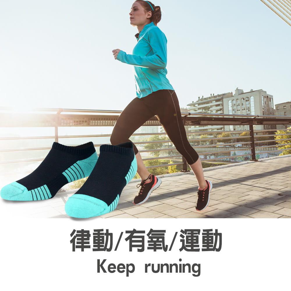 【sina cova 老船長】【老船長】(8467)EOT科技不會臭的襪子船型運動襪-女款 4