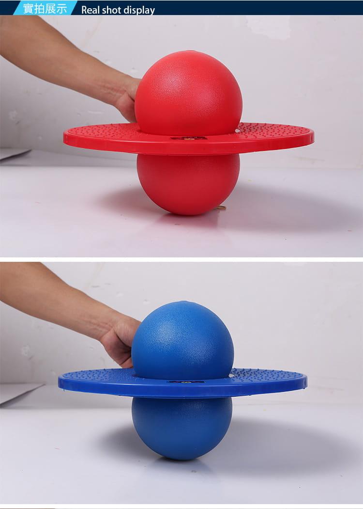 運動跳跳球彈跳球健身平衡球 8