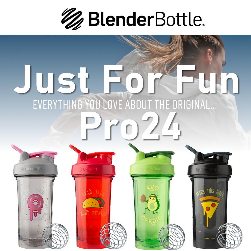 【Blender Bottle】Pro24系列|Tritan|限量特色搖搖杯|24oz|6色 1