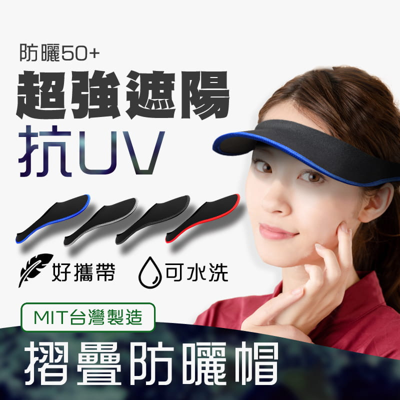 【MACMUS】抗UV防曬遮陽帽|男女款 0