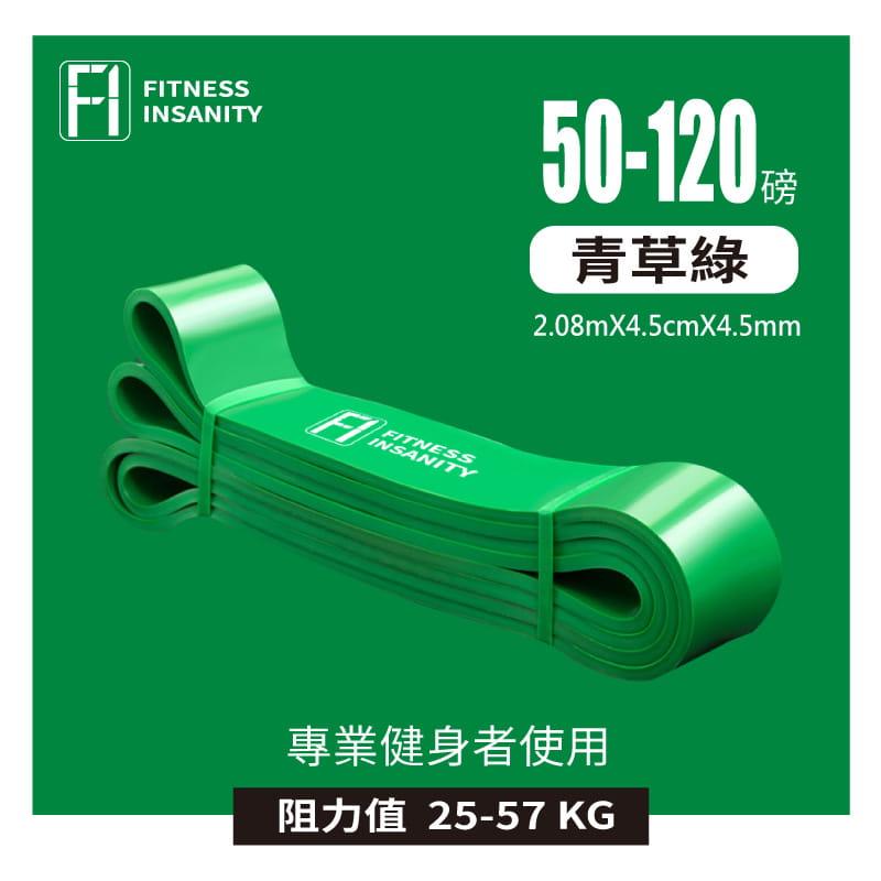 【FitnessInsanity】多功能環狀彈力帶 阻力带4件組 13