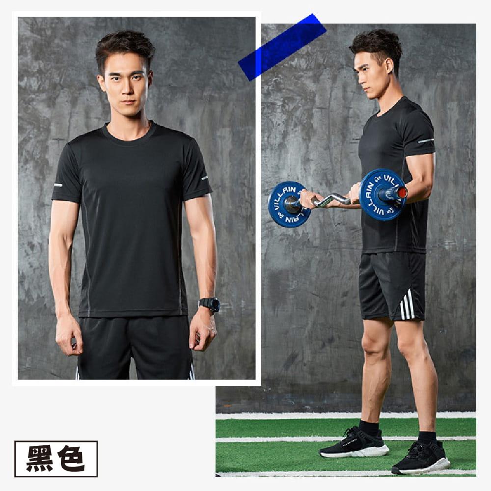 【NEW FORCE】運動機能吸濕排汗衫-4色可選 8