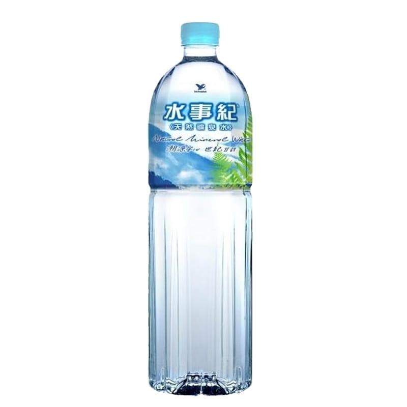 統一水事紀礦泉水1500ml(12瓶/箱) 0