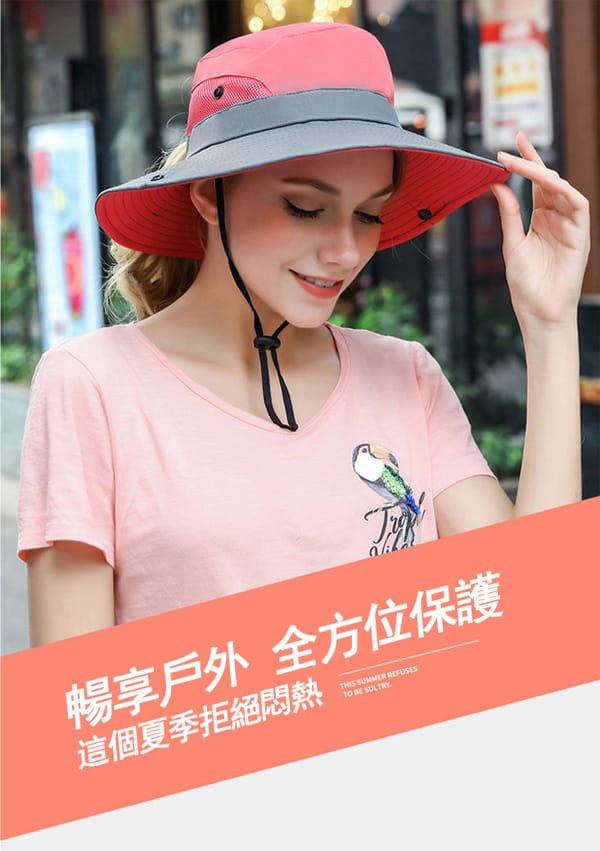 超透氣網狀防曬遮陽帽(男女適穿) 1