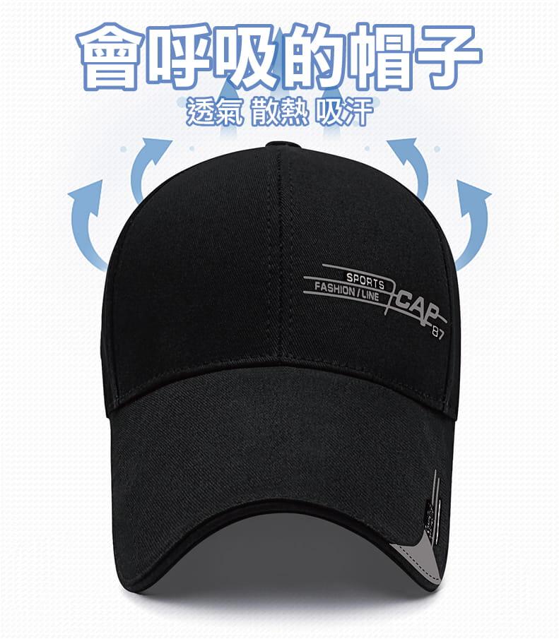 加長帽沿遮陽防曬棒球帽 2